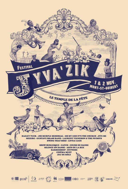 Affiche Festival Jyva'Zik